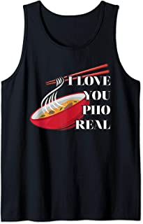 I Love You Pho Real Tank Top