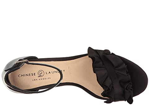 Chinese Laundry Remmy Black Smooth Satin Buy Cheap Best Sale Extremely Online Discount Outlet lTFjJFz7