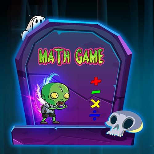 Fresco jogo de matemática monstro e zumbi - livre educacional jogo de matemática para crianças: fácil de difícil problemas matemáticos para melhorar o jogo de cálculo infantil para pré-escola e jardim de infância