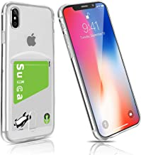 iPhone Xs MAS Case, Clear, Card Storage, FOGEEK iPhone xs Max Case, Clear, iphonexs Max Case, tpu Thin, Fingerprint Prevention, Drop Prevention, Scratch-Resistant, Lightweight, Qi Rapid Charging, Compatible with iPhone Xs Max Special Cover, Transparent (i