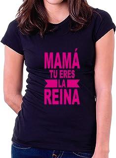Custom Vinyl Camiseta Dia de la Madre Supermama Blanca, M - Normal