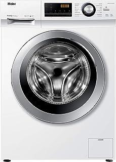 Haier HW80-BP14636N Waschmaschine / 8 kg / 1400 UpM / Inverter Motor / Dampf-Funktion / Vollwasserschutz / ABT / Eco 40-60 Programm