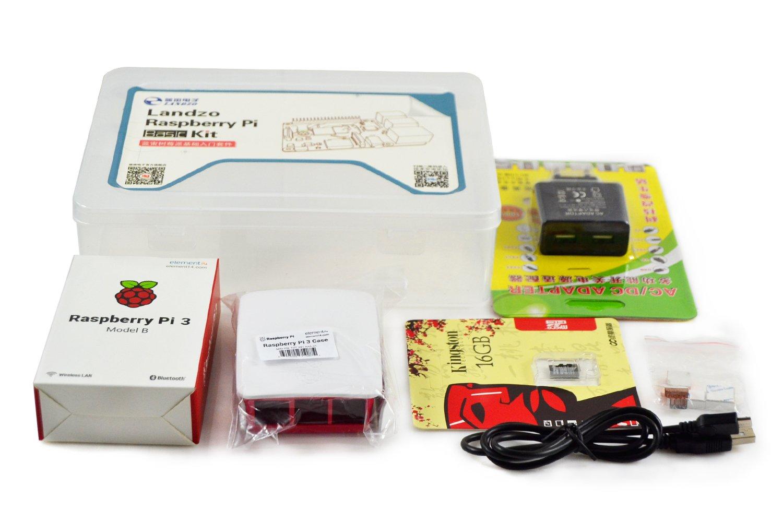 LANDZO Raspberry Pi 3 Model B Starter Kit: Amazon.es: Electrónica