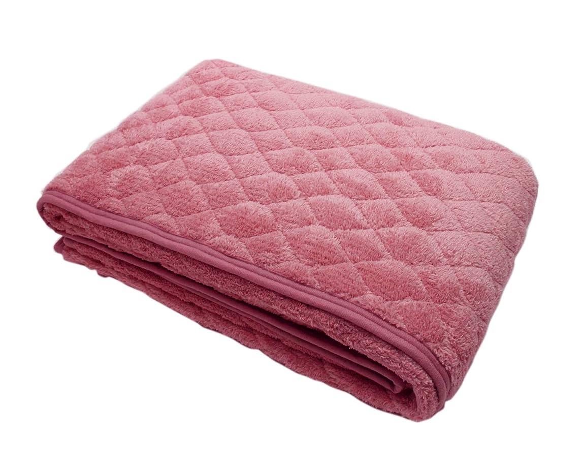 物思いにふける見捨てられたキャリアロマンス小杉 敷きパッド ピンク シングル(100×205cm) ロマンス岩盤浴 敷きパッド(ボアタイプ) 1-3335-8912-8100