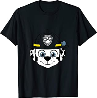 Paw Patrol Fire Dog Marshall Face T-Shirt