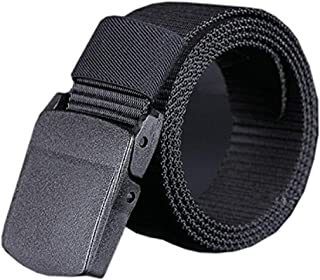 Unisex Canvas Military Waist Web Belt With Buckle
