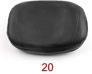 Indietro Sedile del motociclo Morbido Confortevole Pad in pelle Cusion Sedile posteriore Passeggero per SUZUKI GSXR 600 GSXR750 2006-2007 Nero