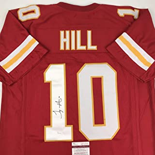 tyreek hill signed jersey