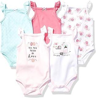 Hudson Baby Baby Cotton Sleeveless Bodysuits