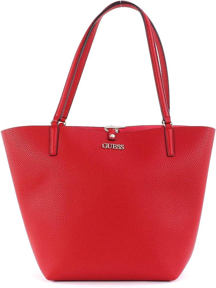 Guess alby, borsa tote per donna, in ecopelle 39899-TUA
