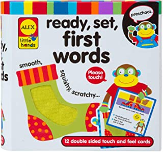 Alex Touch & Feel Cards - 3 Years & Above