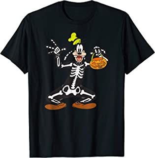 Goofy Skeleton Halloween T-Shirt