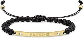 Aromatherapy Lava Affirmation Bracelets
