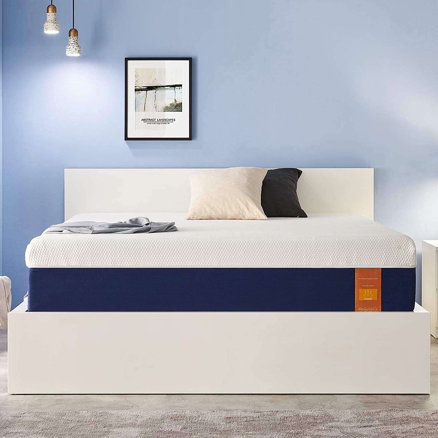 Twin Size Mattress 7 Inch Foam for Max Daily bargain sale 61% OFF Memory Gel Cool
