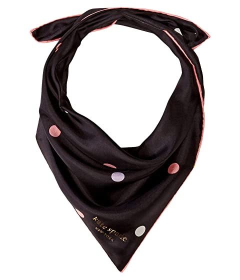 Kate Spade New York Bakery Dot Bandana Scarf