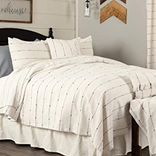 Piper Classics Farmcloth Stripe Twin Coverlet Bedspread, 90