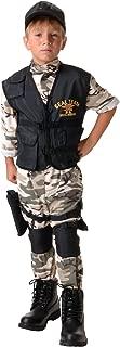 Underwraps Child Seal Team Costume
