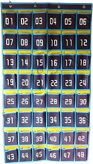 ルナリ ウォール ポケット カレンダーポケット 小物収納 (ブルー)