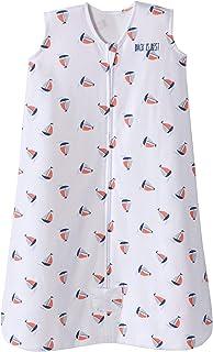 Halo Sleepsack Cotton Wearable Blanket, Sailboat Navy, Large