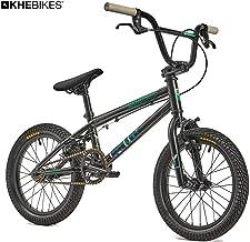 KHE Lenny SE - Bicicleta BMX de 16 pulgadas, color negro,