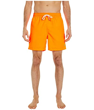 Polo Ralph Lauren Traveler Swim Trunks (Orange Flash) Men