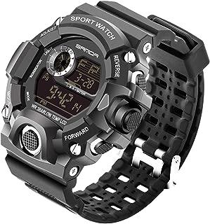 Mens Watch Quartz Watches Military Watch Fashion Dive Men's Sport LED Digital Watch