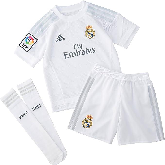 adidas Real Madrid H SMU Mini Completo da Calcio da Bambino