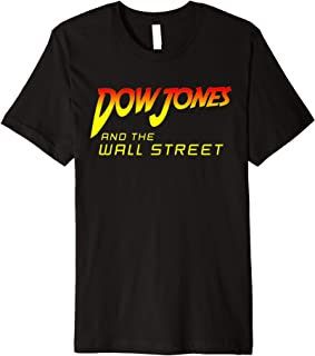 Stock Market Dow Jones Wall Street Trader Premium T-Shirt