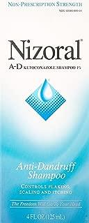 Nizoral A-D Ketoconazole Anti-Dandruff Shampoo, 4 Ounce (Pack of 2)