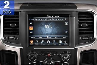 Sponsored Ad - [2PCS] LFOTPP for 8.4-Inch 2013-2020 Dodge Ram 1500 2500 3500 Uconnect PET Plastic Screen Protector, Naviga...