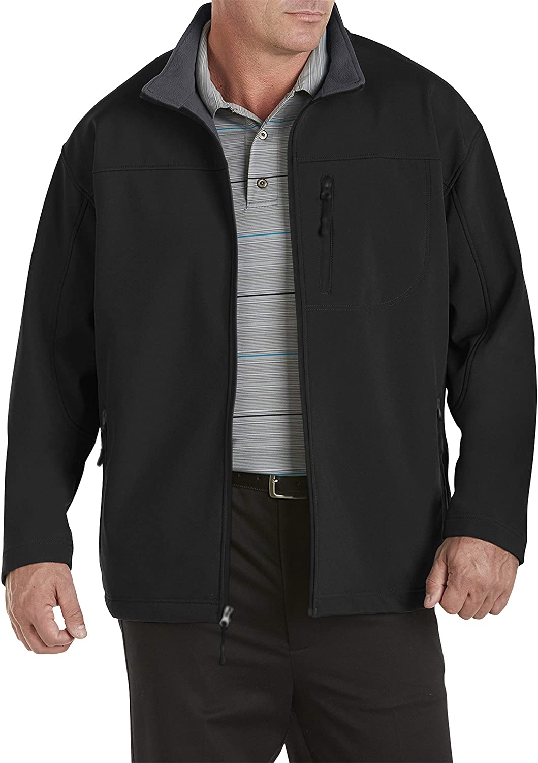Harbor Bay by DXL Big and Fleece Bonded Tall New Orleans New item Mall Jacket