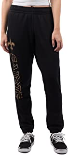Ultra Game NFL Women's Relaxed Jogger Sweatpants