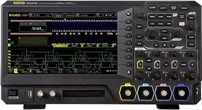 Rigol MSO5104 - Osciloscopio Digital (100 MHz, 8 GB, 200 Mpts, 8 bits)