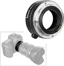 Macro Extension Tube Canon, Micnova KOOKA KK-C25 Auto Focus Macro Extension Adapter with Brass Mount for Canon EOS EF & EF-S Mount 5D2 5D3 6D 650D 750D (25mm Tube)