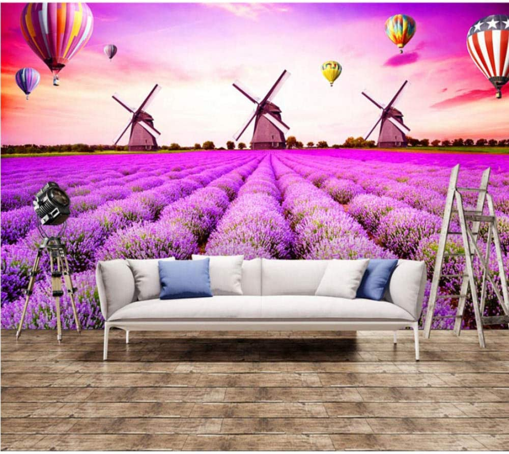 Landscape Wall Papers Lavender Windmill Ho Al sold out. Wallpaper Seattle Mall Mural Photo