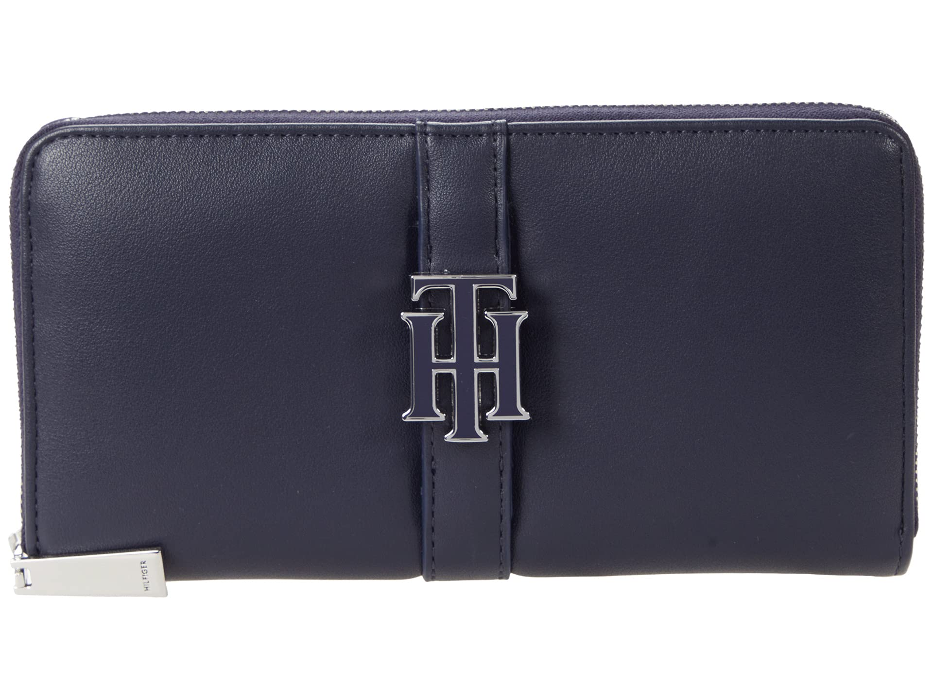 Tommy Hilfiger Tommy Hilfiger Marie-Large Zip Wallet-Smooth Grain PVC