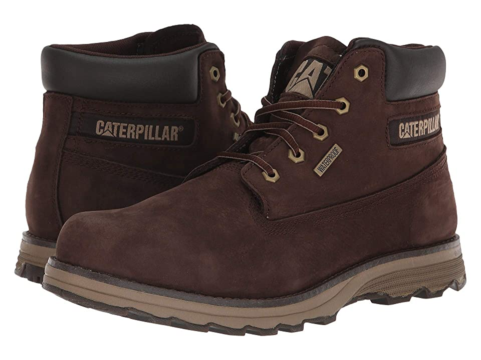 Caterpillar Casual Founder Waterproof (Coffee Bean) Men