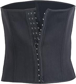 Greetuny Women's Corset Black Black