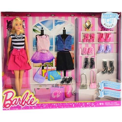 Pack of 2 Barbie Dolls Multicolor Barbie Happy Barbie Entry Doll