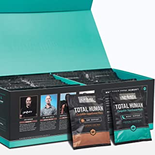 Onnit Total Human (30 Day) - Complete Daily Vitamin Packs for Men & Women - 10x Your Multivitamin - Packed with Essential Vitamins, Minerals, Herbs, and Amino Acids