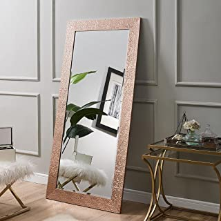 Naomi Home Mosaic Style Mirror Rose Gold/65.5
