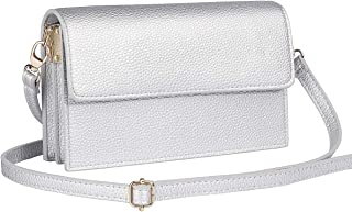 MACLLYN Women Small Crossbody Bag Leather Cell Phone Purse Wallet with Credit Card