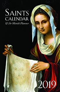 2019 Saints Calendar & 16 Month Daily Planner