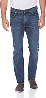 Lee Men's LRSFJMMW Lee Rider Slim Fit Jeans for Men - Mid Washed