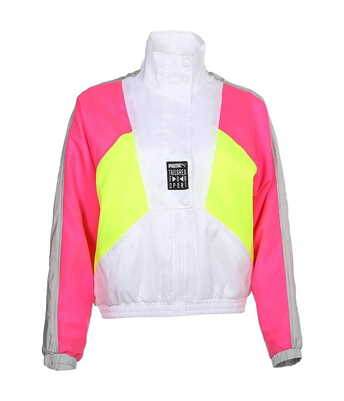 80s Windbreakers, Jackets, Coats PUMA Tailored For Sport OG Retro Track Jacket PUMA White Womens Clothing $76.50 AT vintagedancer.com