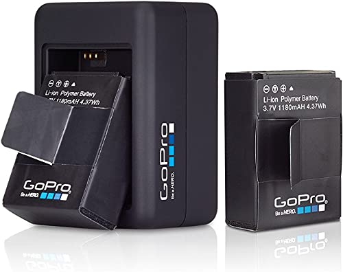 GoPro Dual Battery Charger for HERO3+//HERO3 GoPro Official Accessory