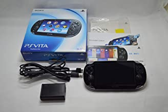 $465 » PlayStation Vita (PlayStation vita) Wi-Fi model Crystal Black (PCH-1000 ZA01)japan import