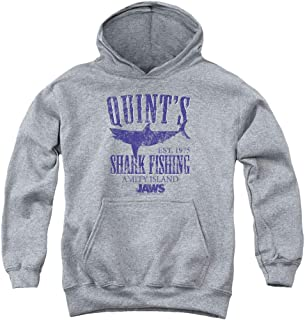 Jaws Shark Original Movie Poster Kids Youth Pullover Hoodie & Stickers