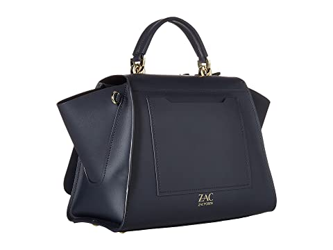 ZAC Zac Posen Eartha Iconic Soft Top-Handle - Butterfly Applique Navy The Cheapest For Sale okugZu