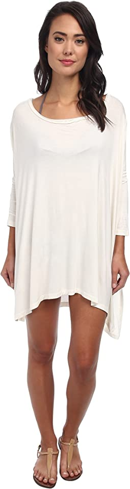 Body Glove Brynn 3/4 Sleeve Tunic Cover-Up